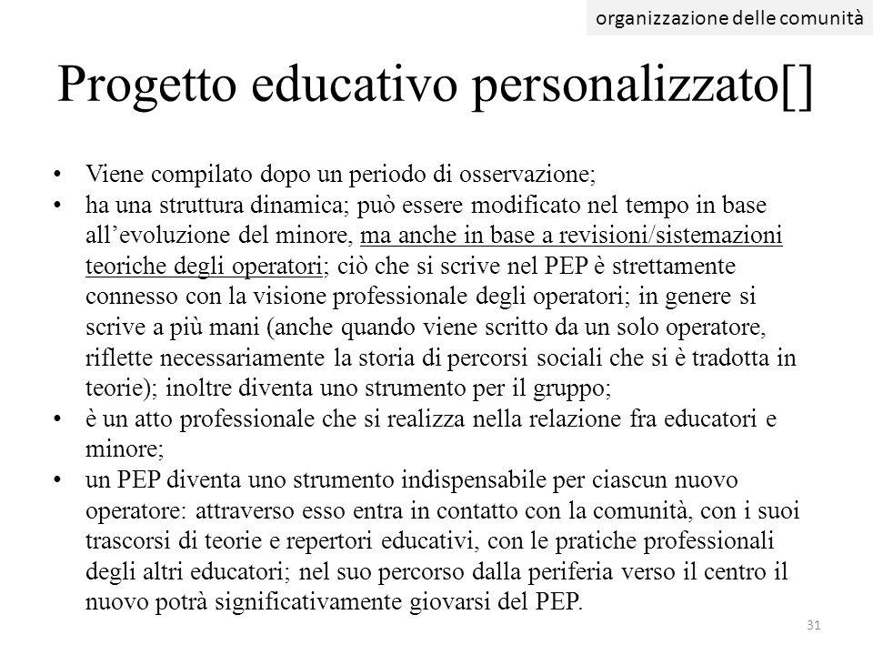 Progetto educativo personalizzato[]